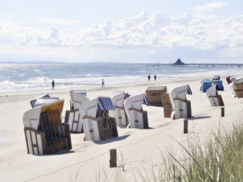 Strand in Usedom